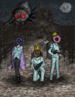 The Spider and the Donut Queens by Boochkin