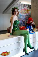 Poison Ivy cosplay by Ophi89
