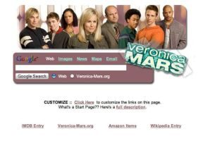 Veronica Mars Startpage by AwesomeStart
