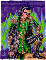 Experimental Loki by AmethystSadachbia
