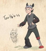 Toothless Humanized by chill13