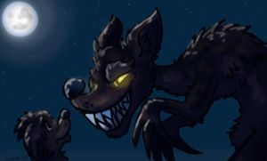 werewolves:father and son by hummeri9