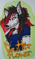 Badge: Gutterflower by ForrestFoxes