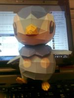 Piplup Papercraft by KokoroPapercraft