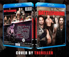 WWE Battleground 2015 Custom BluRay Cover by TheReller