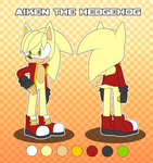 // Aiken the Hedgehog // by nakklesart