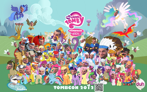 Tombcon 2012 Poster by ChocoMilkTerrorist