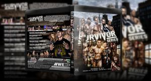 WWE Survivor Series 2012 Blu-Ray Cover [Version 2] by SeriousDesigns