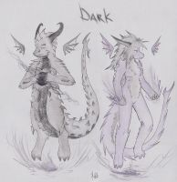 Dark Type Dragons by Dragon-Wish