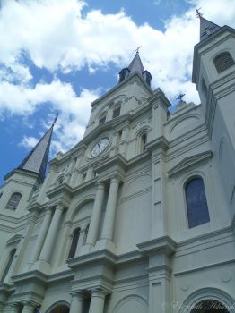 St. Louis Cathedral by elizabeth-ashleigh