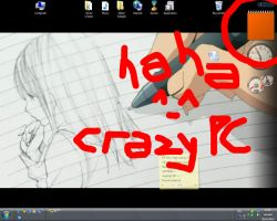 my C R A Z Y PC by ayer-online