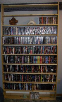 DVD rack Finally Finished by Schieben