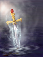 Excalibur by teires