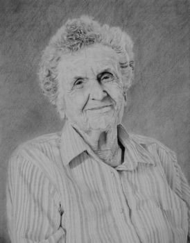 Portrait of My Great Grandmother by TheRoamingArtist