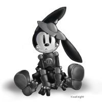 Oswald the Tin Rabbit by KisaKnight