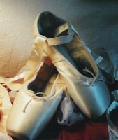 Ballet Shoes by fufu-stock