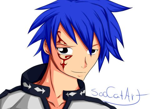 Jellal ~ Fairy Tail by SooCatArt