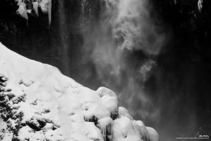 Winter Snow Icefall by dreamcore-creation