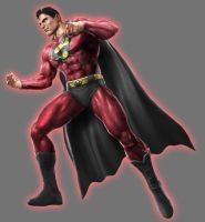 Red Lantern Superman by Lord-Lycan