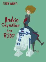 Anakin and R2 by ogakyou