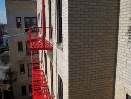 Fire Escapes II by stop-drop-and-die