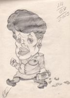 Art School: Dilma Rousseff's Caricature by RBM-Ink