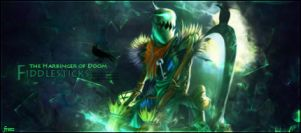 Fiddlesticks LoL Signature by xMarquinhos