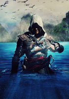 Assassins Creed 4: Black Flag - Poster (5000x3500) by mastersebiX