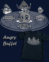 Angry Buffet by spacemonkeydr
