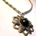 Steampunk Sci Fi Star Necklace by SteamSociety