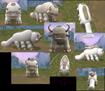 Even BETTER Appa Spore by fluffpuffgerbil