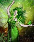 The Green Beauty by Jassy2012