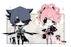 [CLOSED] ADOPT AUCTION 205 - Blind Lace by Piffi-adoptables