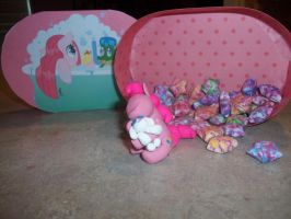 Pinkie Pie birthday gift box by DragonsAndDreamscape