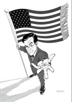 Stephen Colbert by Soussherpa