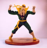 Pipe Cleaner Ironfist by fuzzymutt