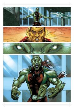 test for Marvel by vrm1979COLORS