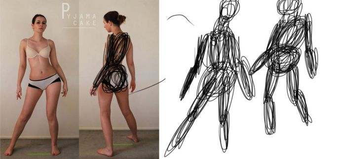 Sketch This gesture challenge by craftfan23