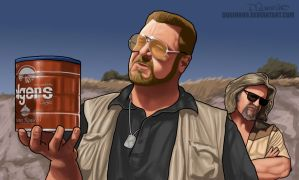 Big Lebowski Commission by DQuinn89
