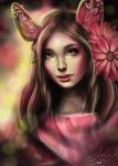 Pink girl by Yoell