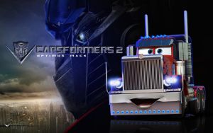 Cars | Optimus Mack by danyboz