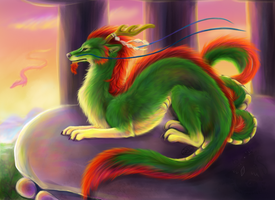 Jou Fu Long by animalartist16