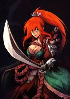 Katarina Wild Blades by oOCherry-chanOo