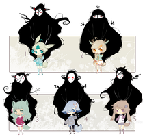 [CLOSED] ADOPT AUCTION 93 - Lovely Guardians by Piffi-adoptables