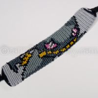 Banette 1 inch Friendship Bracelet by CarrieBea