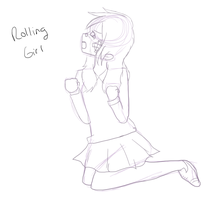 Rollin Girl WIP by chicgurl95