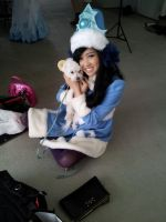 My Cuddly Little Poro by linnieepoo