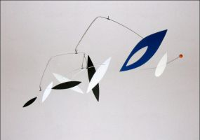"""""""Spacely"""" - hanging mobile by unigami"""