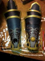 ganondorf gauntlets WIP by stopthedance