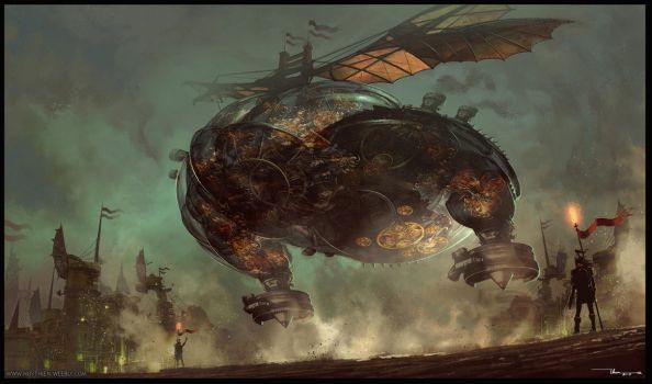 Flying Machine- Landing Base by thiennh2